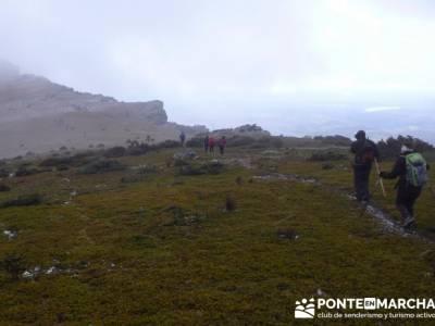 Senderismo Sierra Alto Rey;power walking; andar rápido;caminar deprisa